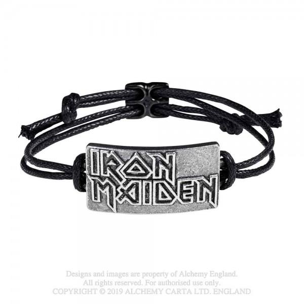 Iron Maiden - Logo (Lederarmband)