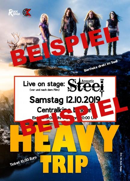 Acoustic Steel / Heavy Trip (Ticket)